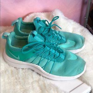 Turquoise Nike's! Size 7.5